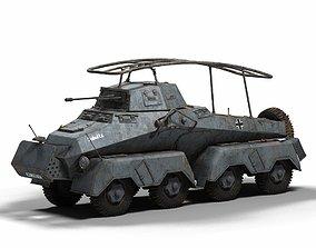 3D model Sd Kfz 232