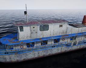 Rusty Ship 3D