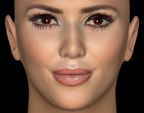 Head Model 15 - Kim Kardashian 3D
