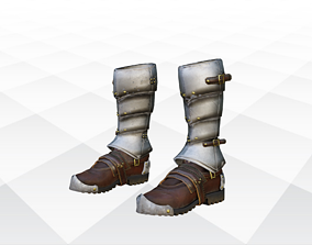 Shoes Sandals and Slippers 3D asset