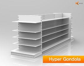 Hyper Gondola 3D supermarket