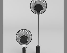 3D model OYSTER Lampe and Lampadaire