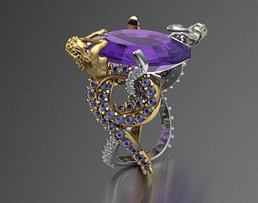 3D printable model women ring 01 No face-ring