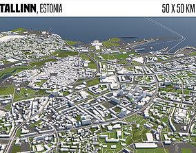 Tallinn Estonia 3D model