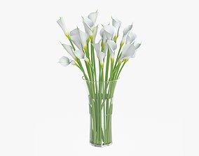 Callas flowers 04 3D model