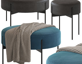 3D model Coco Republic Lido Ottoman