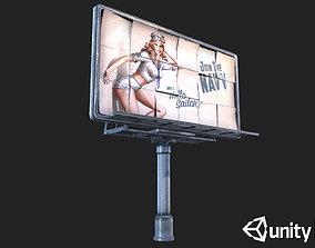 3D model Big Steel Billboards