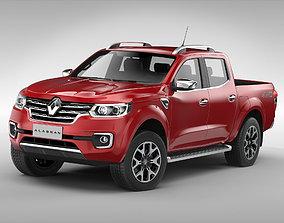 3D model Renault Alaskan 2017