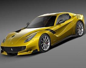 3D Ferrari F12tdf 2016