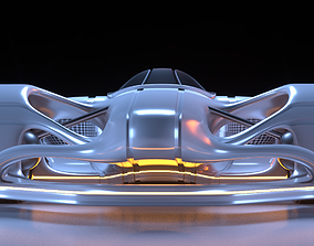 Future Racer 1 3D model