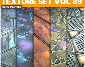 3D asset Scifi Vol 89 - Game PBR Textures