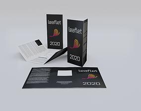 Leaflets booklets 3D