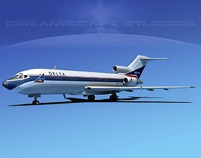 Boeing 727-100 Delta Airlines 1 3D