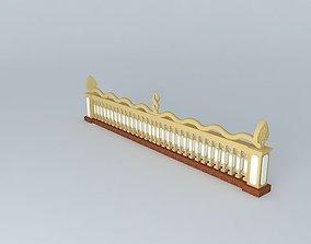 Naga Handrail 3D model