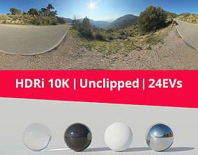 HDRi - Mountains Road and Panorama 3D model