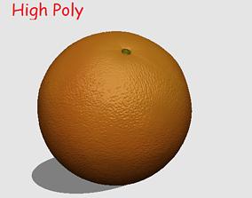 Orange sweet 3D