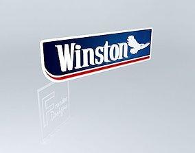 SIGNAGE WINSTON 3D LOGO