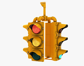 3D Traffic Signal 003