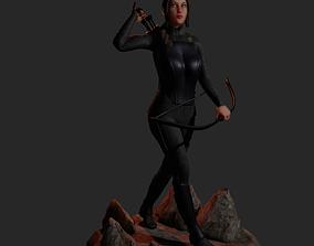 Ketlin Everdeen 3D print model