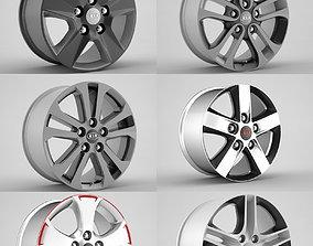 Kia Ceed Rims collection 3D