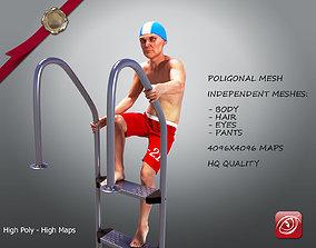 SwimmingpoolboyCasualC 3D model