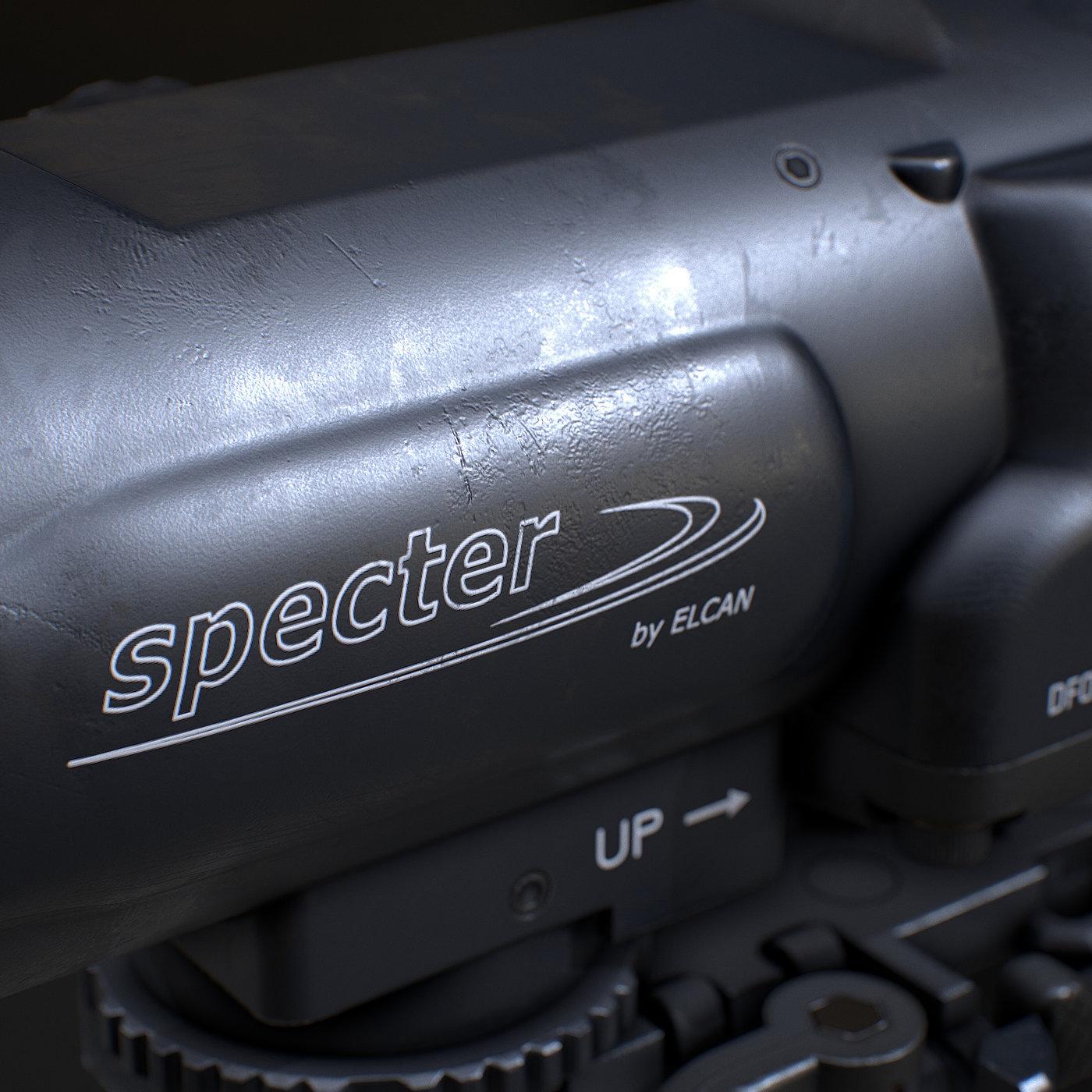 ELCAN SPECTERDR 6X