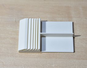 3D printable model Plate stand hdd-platter