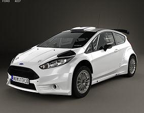 3D model Fiesta R5 3-door 2014