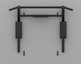 Horizontal bar 3D asset