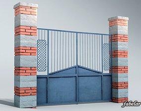exterior Gate 3D model