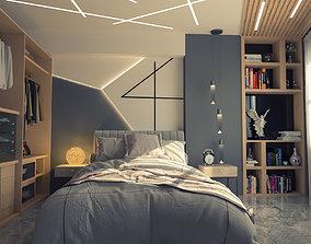 single bedroom 3D model
