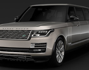 3D model Range Rover SVAutobiography Limo L405 2019