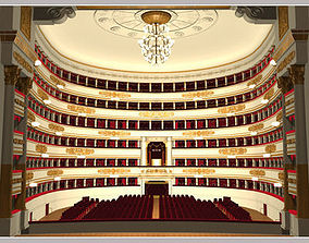 3D model Scala Theatre