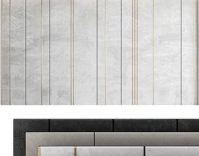 3D model Decorative wall panel set 36