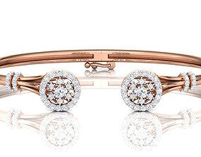 Duo Diamond Bracelet 3D print model