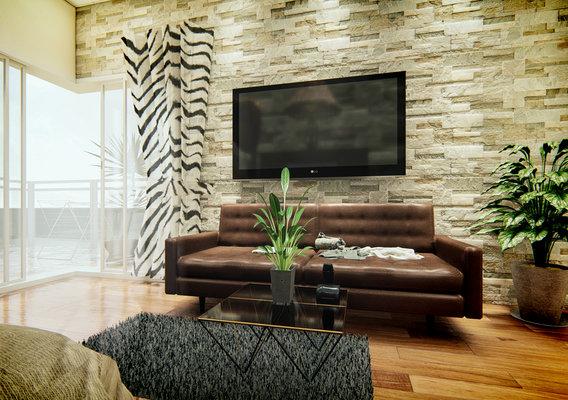 green bedroom concept