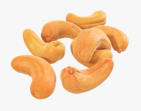 Nuts cashew 3D model
