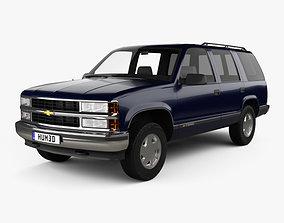 3D american Chevrolet Tahoe LT 4-door 1995