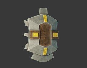 3D model Stylized Medieval Shield 1