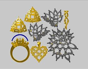 3D print model Jewellery-Parts-4-w0x4vfwu