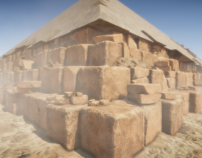 3D Ancient Pyramid