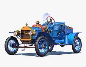 3D Ford Model T Speedster 1915
