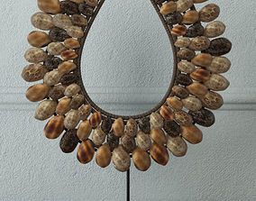 Native shell decor 3D model