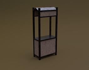 Trade stand 19 R 3D asset