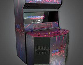 3D model ARC1 - Arcade Cabinet 01 - PBR Game Ready