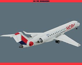 CRJ700 Hop 3D model