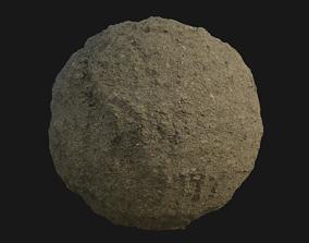 3D PBR Scanned Dry Cracked Soil