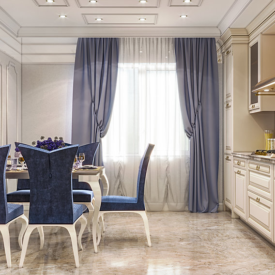 Classic luxury kitchen by 3DAG in Istanbul