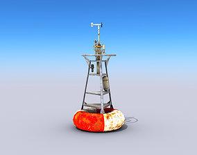 3D asset Meteorological Buoy
