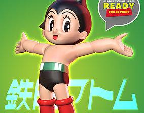 3D printable model Astro Boy want to hug the world